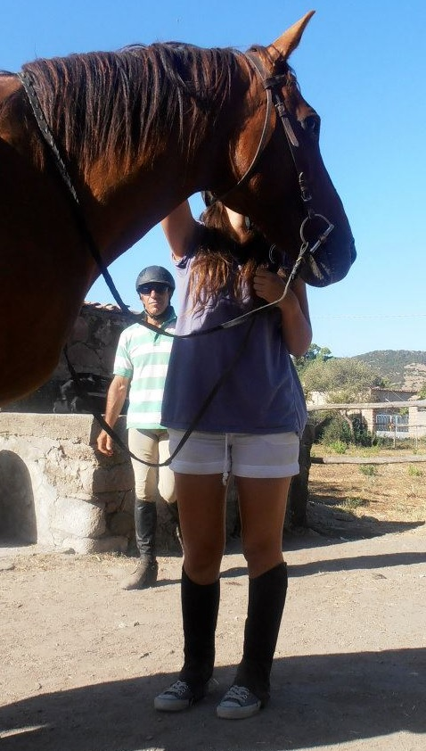Horseriding in Bosa