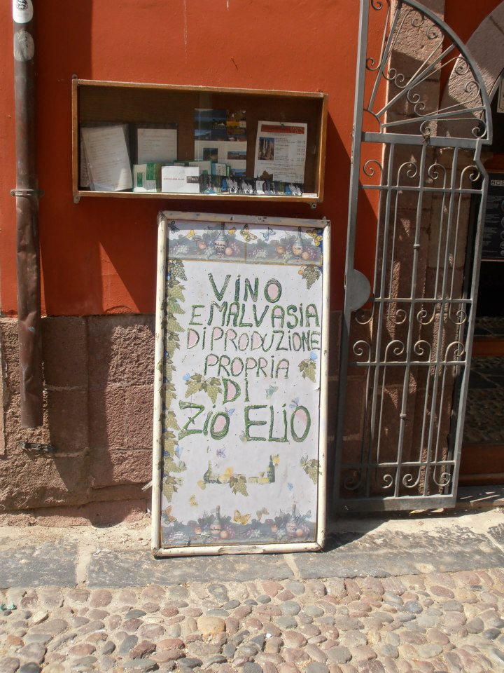 Sardinian Wine in Bosa