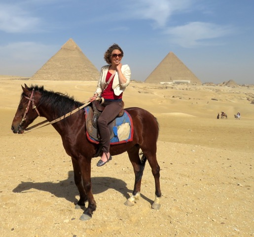 Horse Riding at Giza - AMikkelson