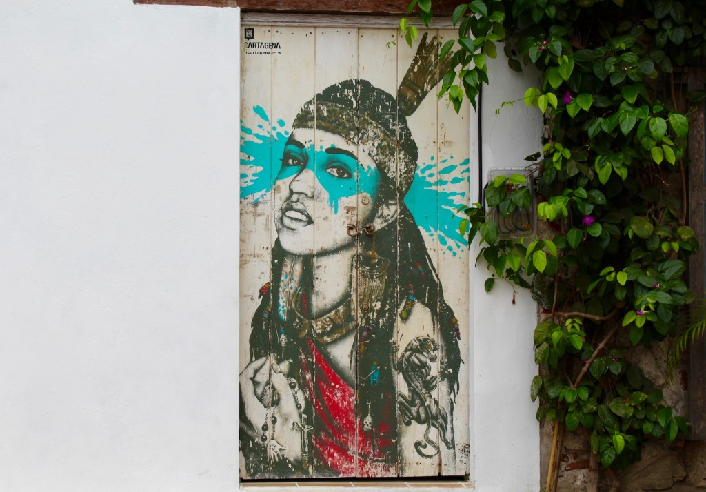 Street Art in Getsemani, Cartagena
