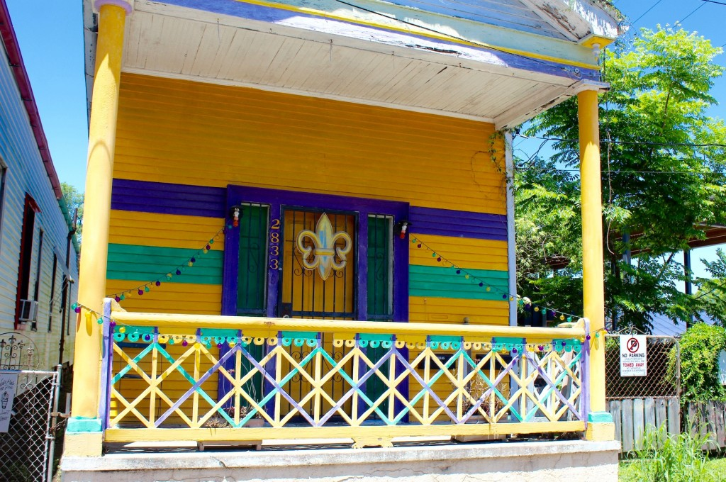 Mardi Gras House, New Orleans