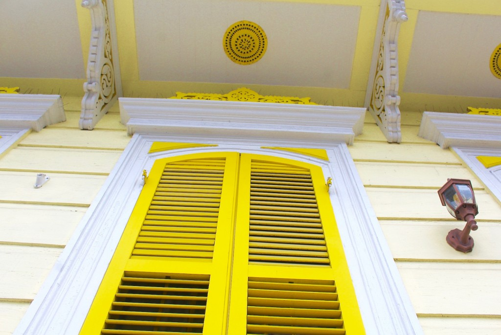 Yellow Windows in New Orleans
