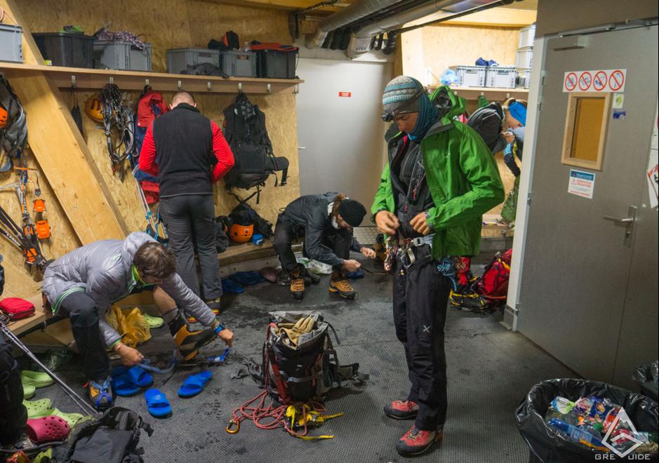Equipment for Mont Blanc Summit