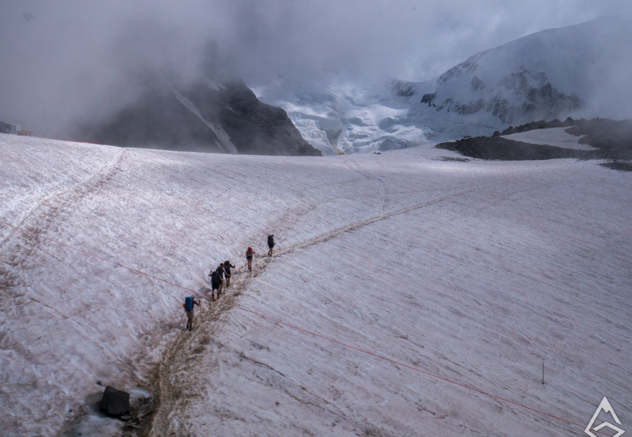 Hiking on Mont Blanc Chamonix