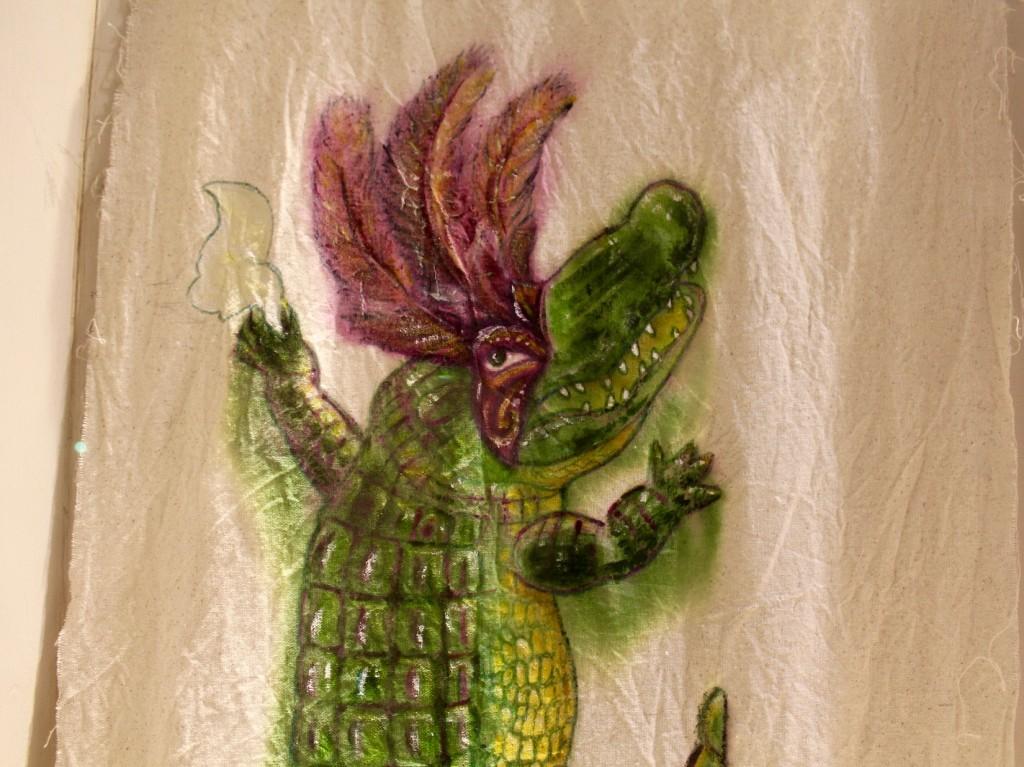Mardi Gras Crocodile