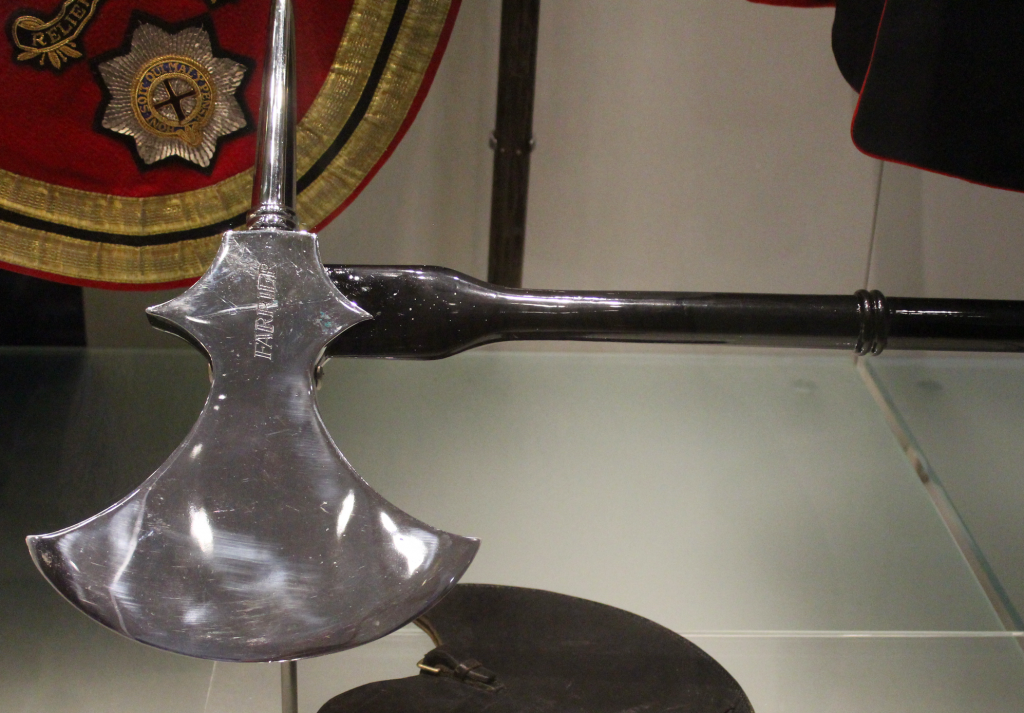 Household Cavalry Farriers Axe