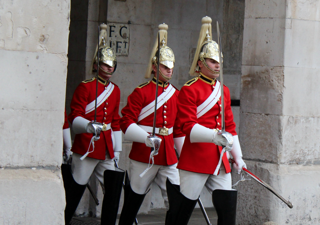 Household Cavalry Guard Change