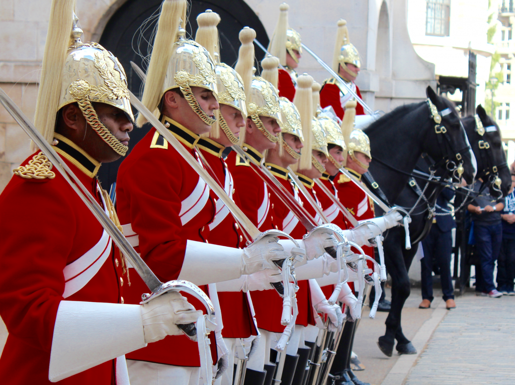 Household Cavalry Guard Inspection