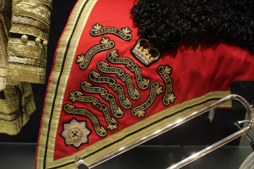 Household Cavalry Saddle Blanket