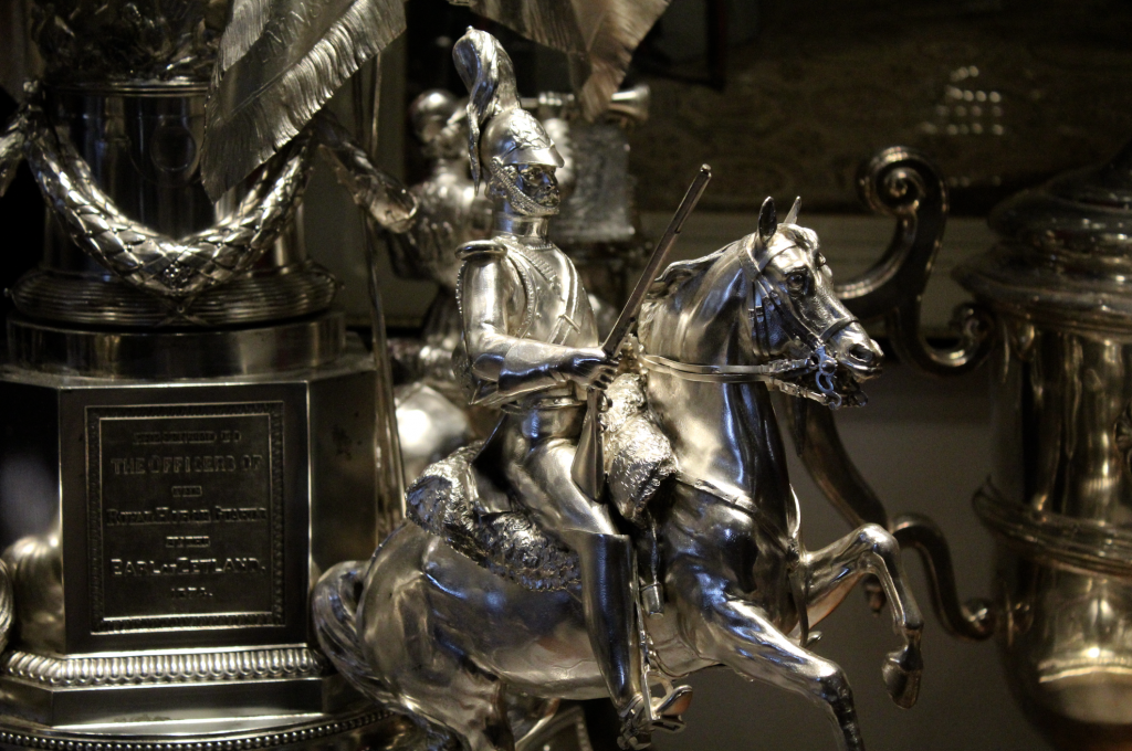 Household Cavalry Silver Trophy