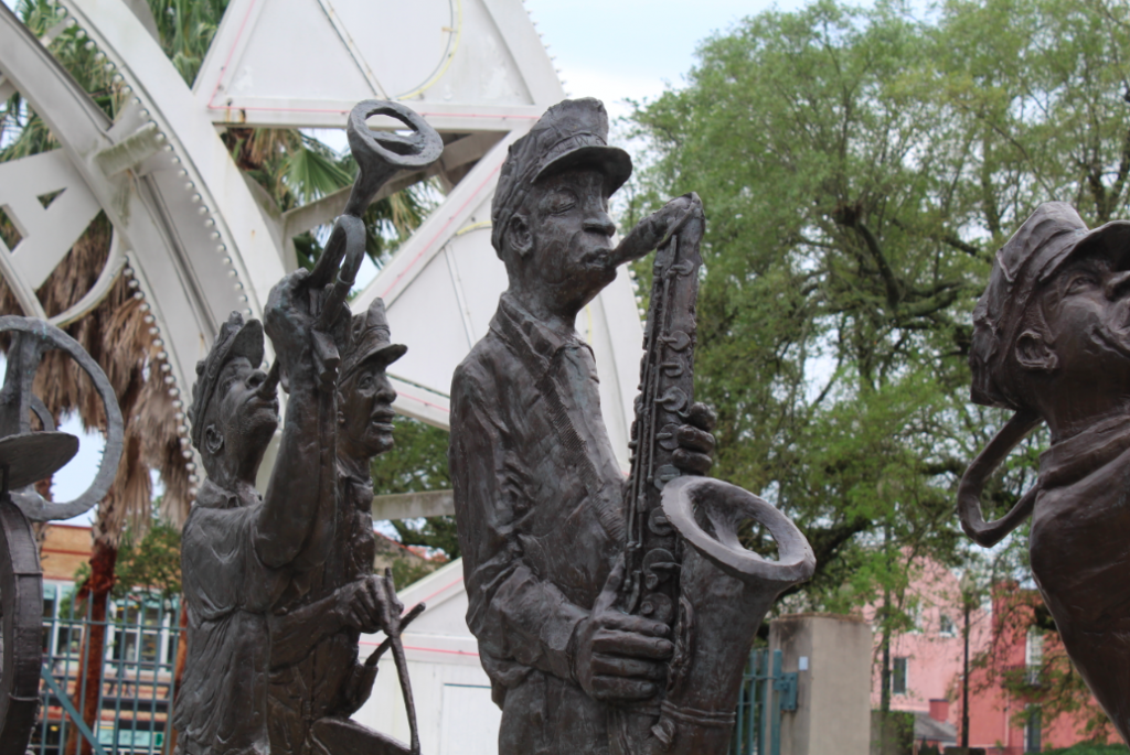 Jazz Sculpture New Orleans 2