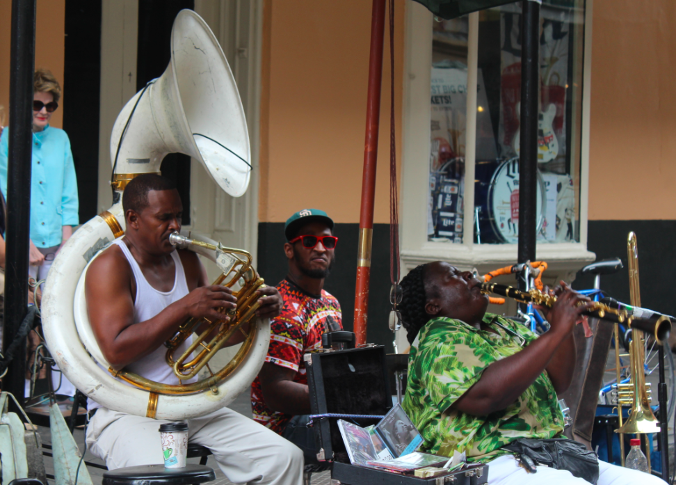 Jazz on Street New Orleans